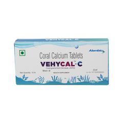 Vehycal C Tablet 10'S