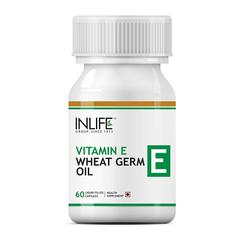 INLIFE Vitamin E Oil With Wheat Germ Oil Capsules 60's