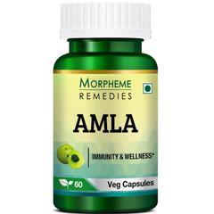 Morpheme Remedies Amla Caps 500mg Veg Caps 60's