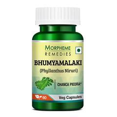 Morpheme Remedies Bhumyamalaki (Phyllanthus Niruri) Veg Capsule 60's