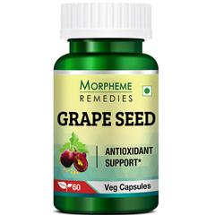 Morpheme Remedies Grape Seed 500 mg Veg Capsule 60's