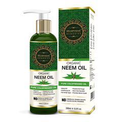 Morpheme Remedies Pure Organic Neem Oil (ColdPressed & Undiluted) 200 ml