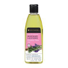 Soulflower Healthy Hair Oil - Rosemary Lavender 225 ml