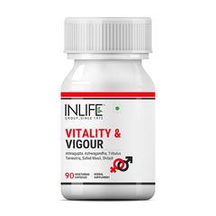 INLIFE Vitality & Vigour Vegetarian Capsule 90's