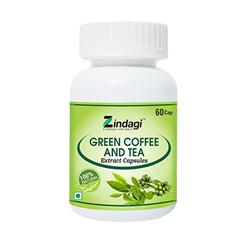 Zindagi Green Coffee & Tea Extract Capsule 60's