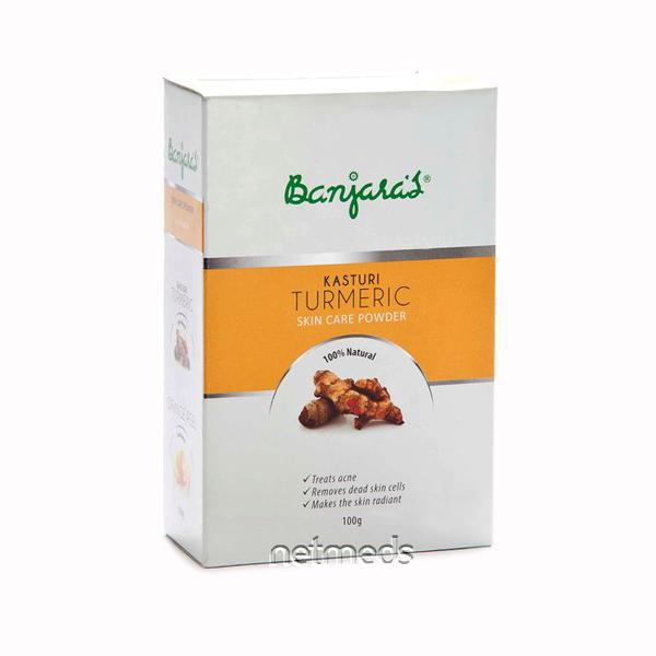 Banjaras Kasturi Turmeric Skin Care Powder 100 gm