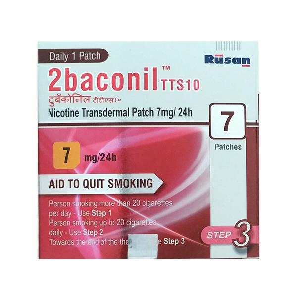 2baconil TTS10 7mg Patch 7'S