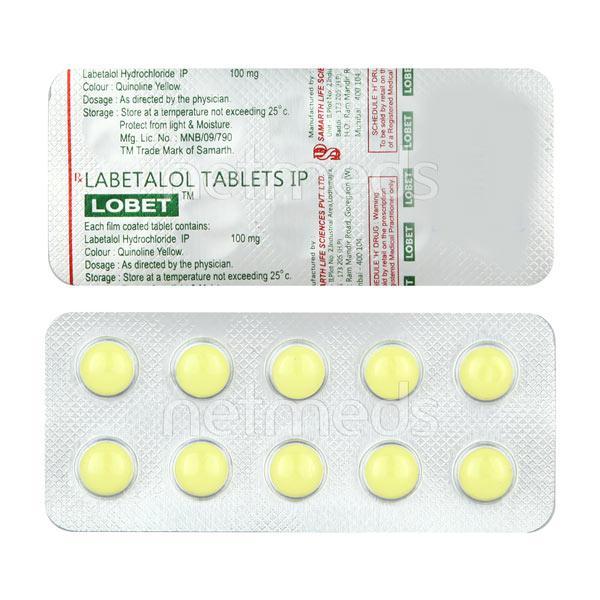 Lobet 100mg Tablet 10'S