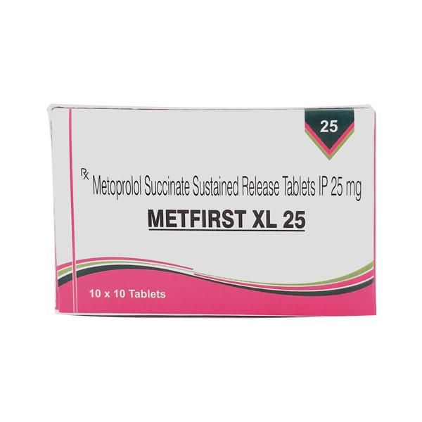 Metfirst XL 25mg Tablet 10'S