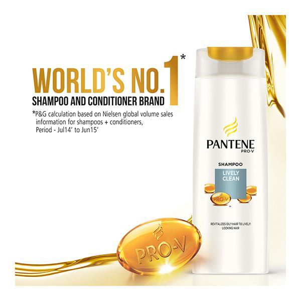 Pantene Pro-V Advanced Hair Care Solution+ Shampoo - Lively Clean 200 ml