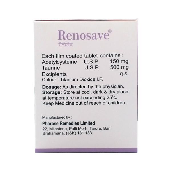 Renosave Tablet 10'S