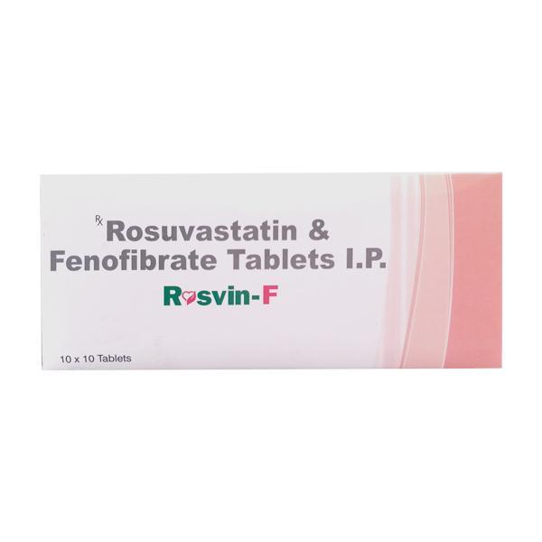 Rosvin F 10mg Tablet 10'S