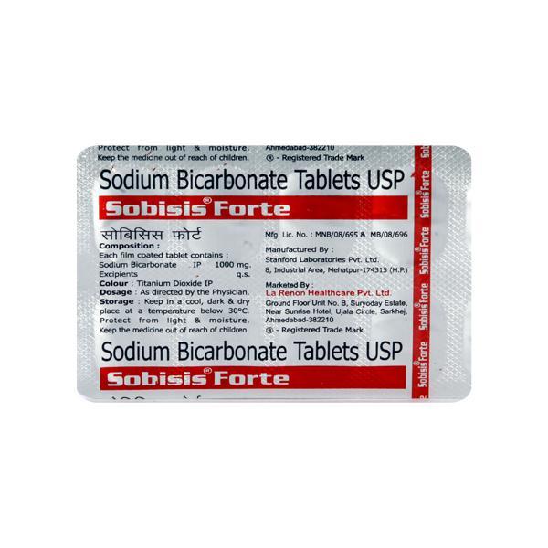 Sobisis Forte Tablet 10'S