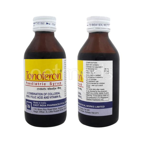 Tonoferon Paediatric Syrup 100ml
