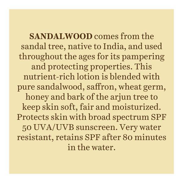 Biotique Bio Sandalwood SPF 50 Sunscreen Lotion for All Skin Types 120 ml