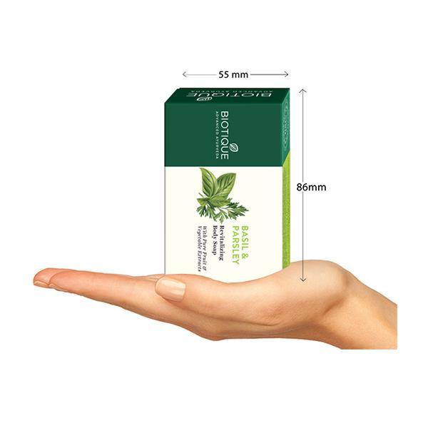 Biotique Basil & Parsley Revitalizing Body Soap 75 gm