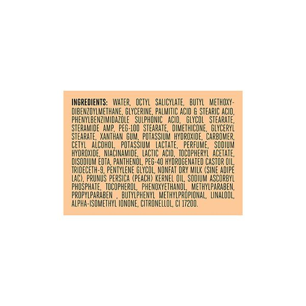 Lakme Peach Milk Moisturizer SPF 24 PA Sunscreen Lotion 120 ml