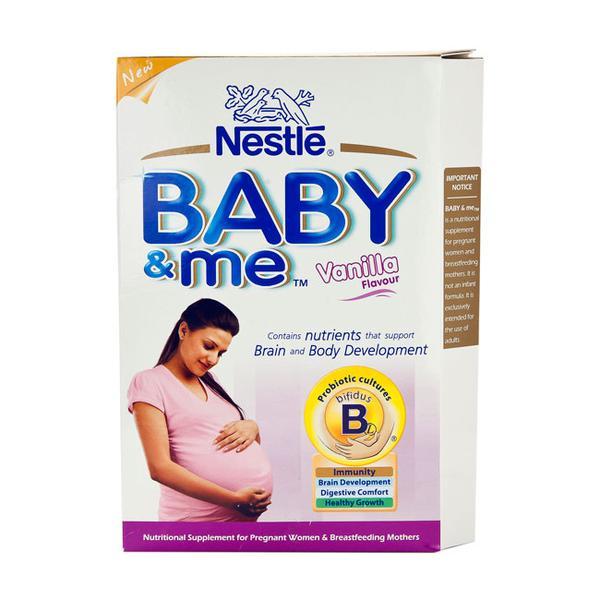 Nestle Baby & Me Vanilla Flavour Powder 400 gm (Refill Pack)