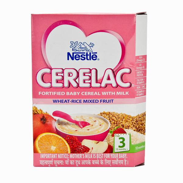 Nestle Cerelac Stage 3 (10 Months+) Powder 300 gm - Wheat-Rice Mixed Fruit (Refill Pack)