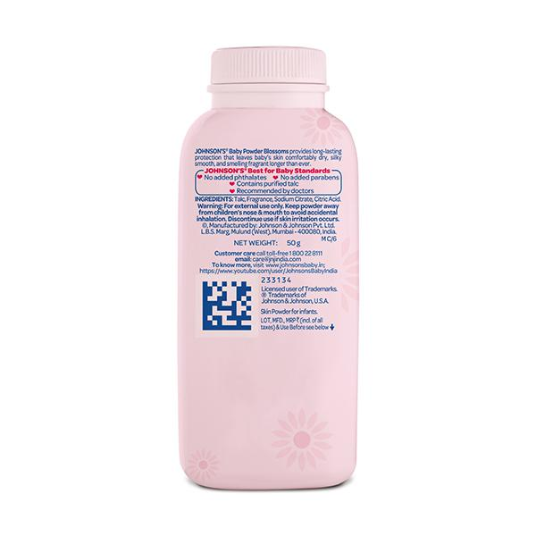 Johnson's Baby Blossoms Powder 50 gm