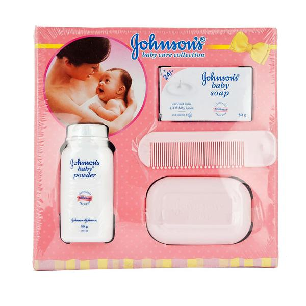 JOHNSON'S BABY CARE COLLECTION GIFT BOX-COMPACT