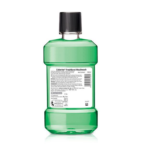 Listerine Freshburst Mouthwash 500 ml