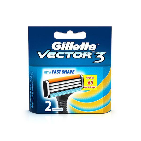 Gillette Vector 3 Cartridges 2's