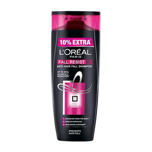 L'Oreal Paris Fall Resist 3X Anti-Hair Fall Shampoo 175 ml