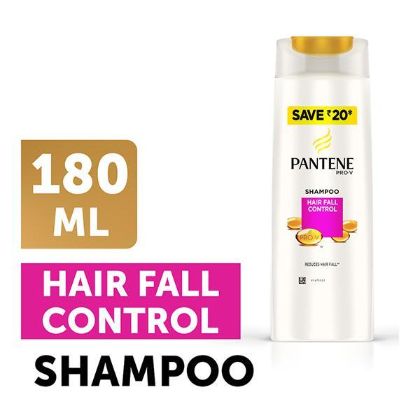 Pantene Pro-V Advanced Hair Fall Solution+ Shampoo - Silky Smooth Care 180 ml