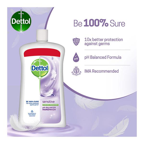 Dettol pH Balanced Handwash - Sensitive 900 ml