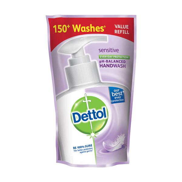DETTOL SENSITIVE PH BALANCED HAND WASH 185ML