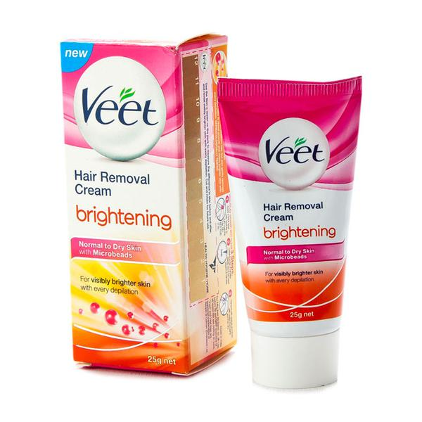 Veet Hair Removal Cream - Brightening 25 gm