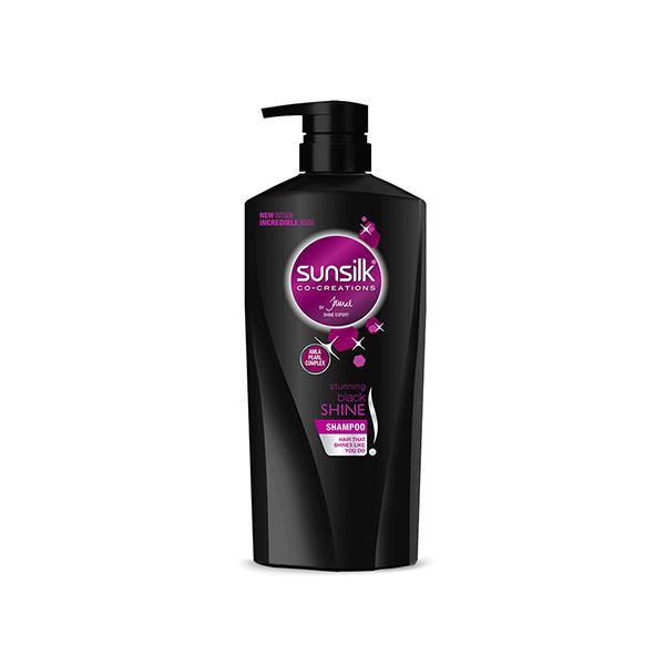 Sunsilk Co-Creations Stunning Black Shine Shampoo 650 ml