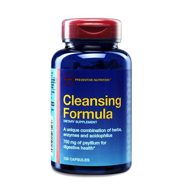 GNC Preventive Nutrition Cleansing Formula Capsule 120's