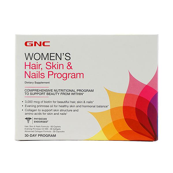 GNC Women's Hair Skin and Nails 30 Day Program