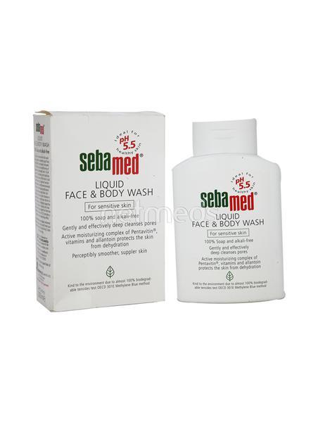 SEBAMED FACE & BODY WASH Liquid 200ml