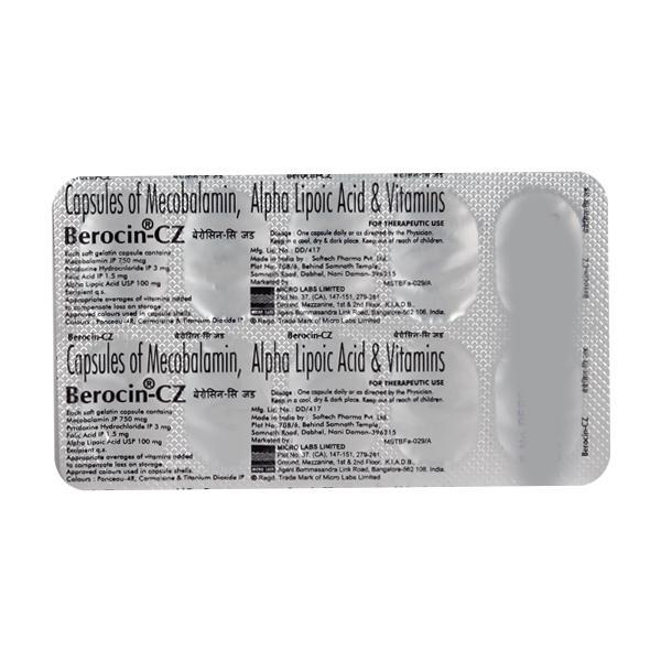 Berocin CZ Capsule 10'S