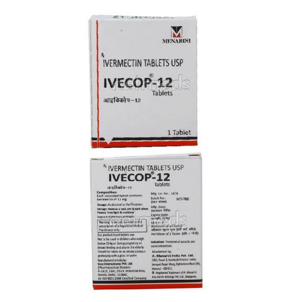 Ivecop 12mg Tablet 1's