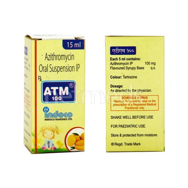 ATM 100mg Suspension 15ml