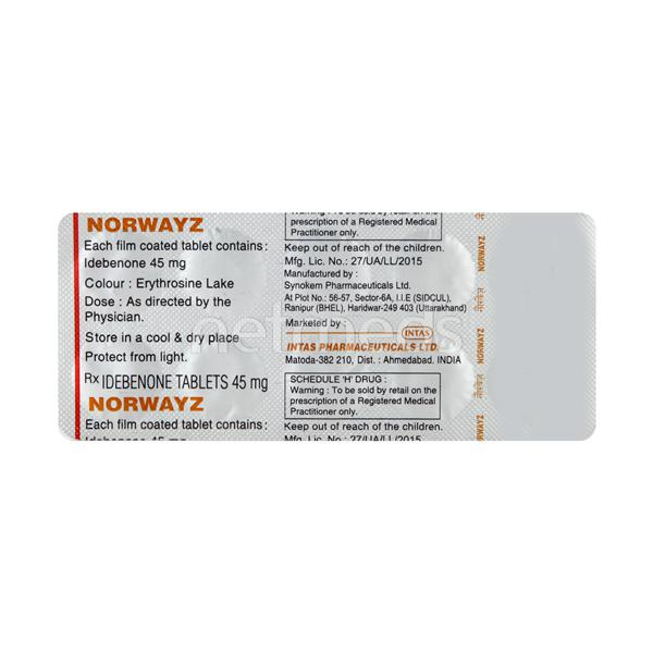 Norwayz Tablet 10'S