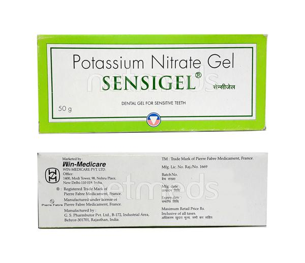 Sensigel Dental Gel 50gm