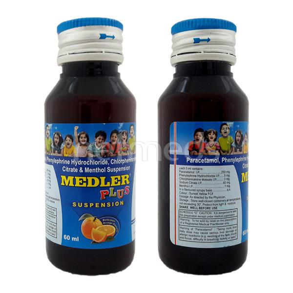 Medler Plus Syrup 60ml