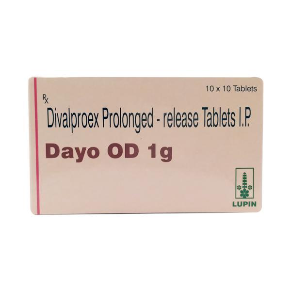 Dayo OD 1gm Tablet 10'S