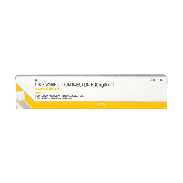 Loparin 40mg Injection 0.4ml