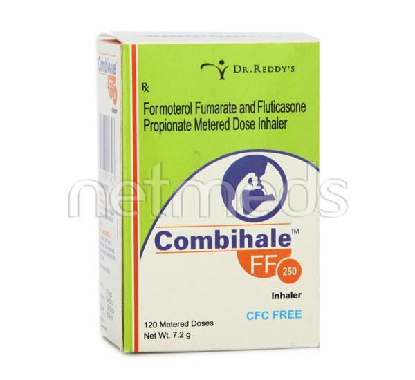 Combihale FF CFC free 250 Inhaler 120MD