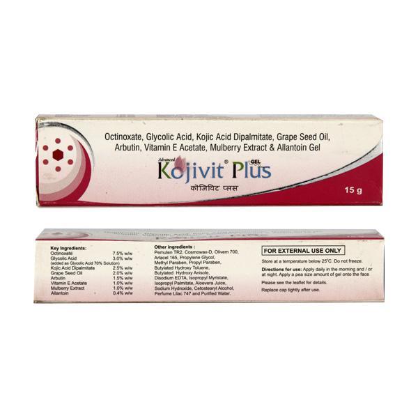 Kojivit Plus Gel 15gm