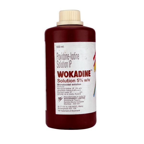 Wokadine 5% Solution 500ml