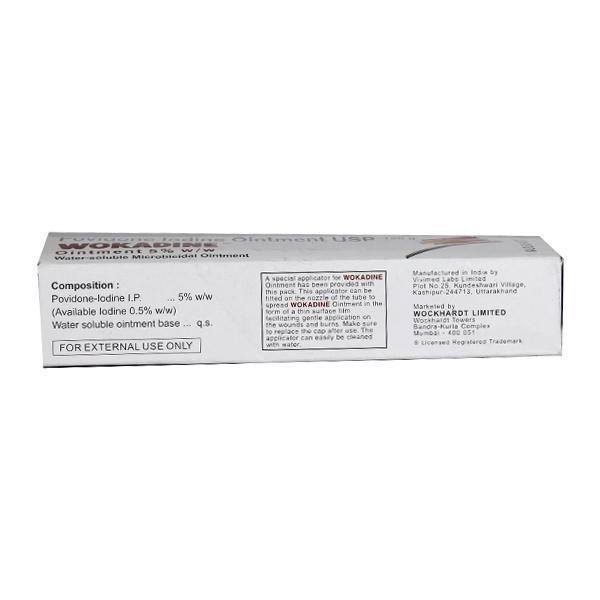 Wokadine Ointment 125gm