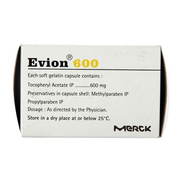 Evion 600mg Capsule 10'S