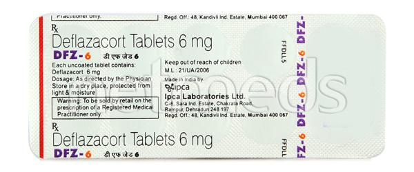 DFZ 6mg Tablet 10'S